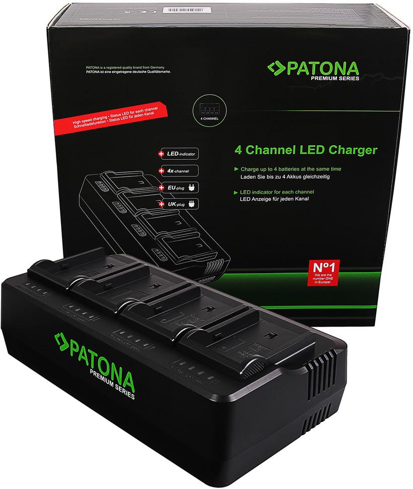 Ładowarka Patona 4-kanałowa do akumulatorów Sony BP-U